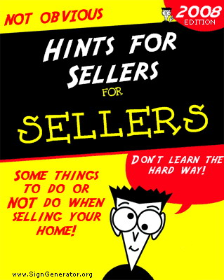 Hint for Sellers of Homes in South Orange County California