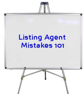 Listing Agent Mistakes